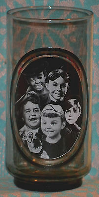 "ARBY'S Collector's Series #5 of 6 GLASS ""THE LITTLE RASCALS"" Spanky, Porky, 1979"