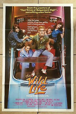 THE WILD LIFE - 1984 Original Folded 27x41 One Sheet Movie Poster