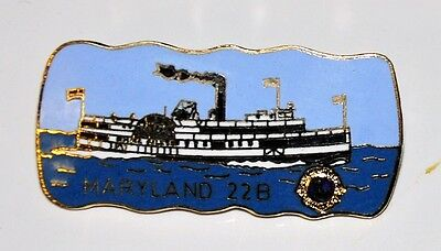 Lions Club Pins - STEAMBOAT~ MD 22B Pin~MARYLAND COLLECTIBLE