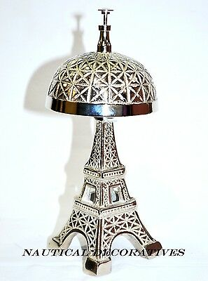 Vintage Hotel Counter Eiffel Tower Desk Bell Antique Style Good Quality Sound