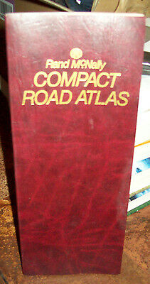 1990 RAND McNALLY COMPACT ROAD ATLAS