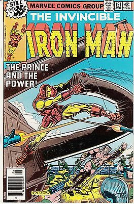 Iron Man #121 (Marvel; April 1979) Prince Namor
