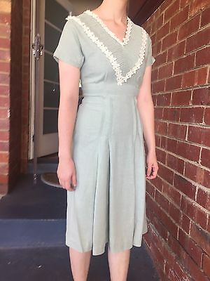 Irish Linen Vintage Dress Size 8-10