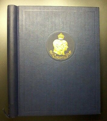 1937 Coronation of KGVI,In original album & box,100% Complete + Blks,Toning,#494