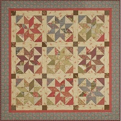ENDLESS SUMMER - CHARM QUILT QUILTING PATTERN, from Heartspun Quilts, *NEW*