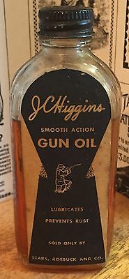 Vintage JC Higgins Smooth Action Gun Oil Bottle - Sears Roebuck and Company
