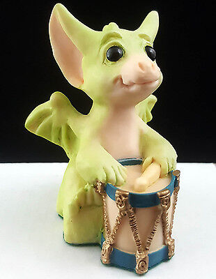 """Pocket Dragons """"A Different Drummer"""" by Real Musgrave 1992 Mint Condition No Box"""