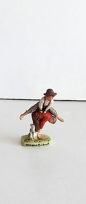 The Saturday Evening Post Norman Rockwell Figurine June 28, 1919 Leapfrog Play
