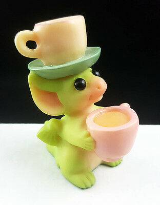 """Pocket Dragons """"Tea for Two"""" by Real Musgrave 2000 Flambro Mint"""