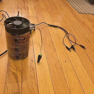 mini Gridseed 5 chip orb tower w/ power supply brick and USB cables