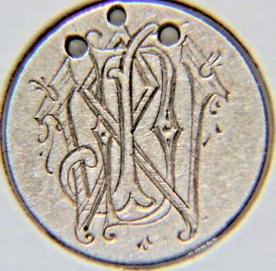 1875 10C Liberty Seated Dime - LOVE TOKEN - Lot # LT 30