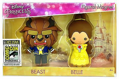 SDCC 2017 Comic Con Beauty And The Beast Belle Figural Magnet Disney Exclusive