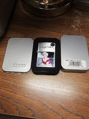 Marilyn Monroe 2004 Zippo In Orig. Tin -New-Never Used w/Papers & Seal.