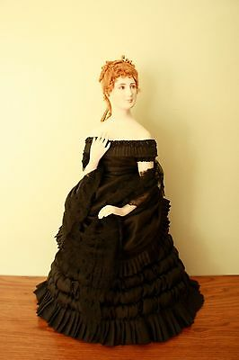 """Stunning MARILYN STAUBER 18"""" Bisque Doll, 1983 Limited Edition, Original Clothes"""