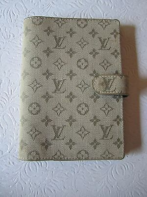 Louis Vuitton Agenda - Day Planner In Monogram Mini Lin Ca0061