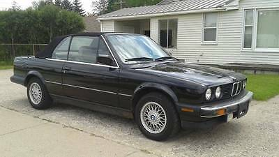 1991 BMW 3-Series  1991 BMW E30 325i Convertible, BMW German BBS Basketweave Rims, Ice Cold Air