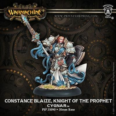 Warmachine: Cygnar - Constance Blaize, Knight of the Prophet - New - Nerdy Nerd