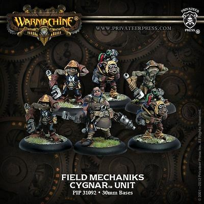 Warmachine: Cygnar - Field Mechaniks Unit - New - Nerdy Nerd