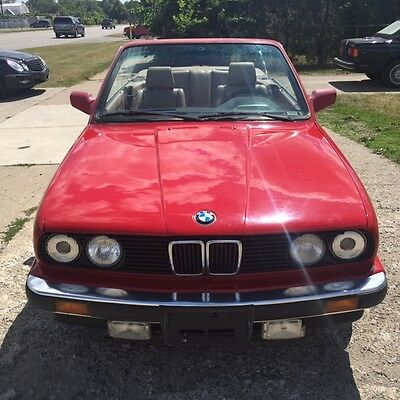 1989 BMW 3-Series  1989 BMW E30 325i Convertible, With BMW Factory Rims, Car Starts Every Time