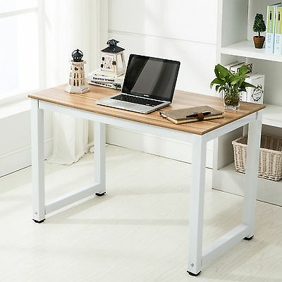 Home Office Wood Computer Desk  PC Laptop Table Workstation Study Furniture