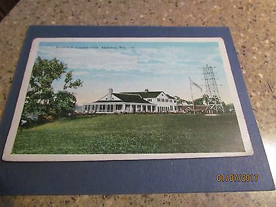 Vintage Appleton, Wisconsin- Riverview Country Club- Early 1900's