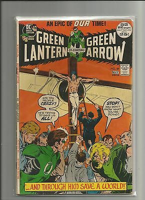 Green Lantern #89 FN 1972 DC Comics Key Neal Adams Issue Green Arrow Bronze-Age