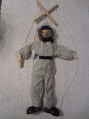 Tellon Collection Wooden Marionette-Hand painted, Excellent Condition