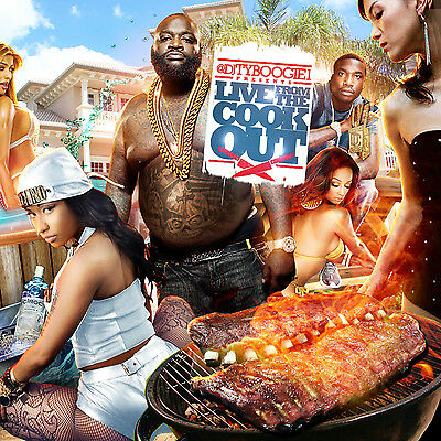 Dj Ty Boogie - Live From The Cookout(Mix Cd) Hip Hop, R&b And Blends