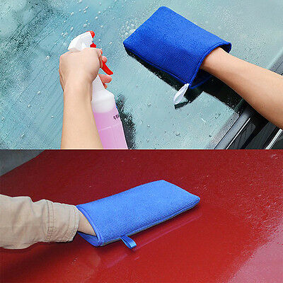 Car Cleaning Water Absorption Magic Clay Washing Gloves Wash Artificial Wool