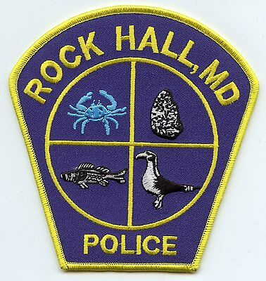Rock Hall Maryland Md Police Patch