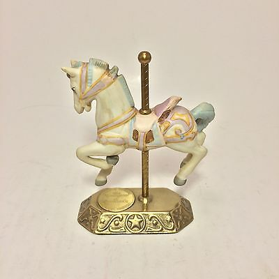 Horse Figure Willits Designs The Romance Of Carousels 1987