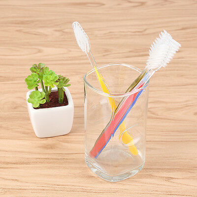 Wholesale 50x Disposable Toothbrushes Individual Wrapped Dual Color Hotel Supply