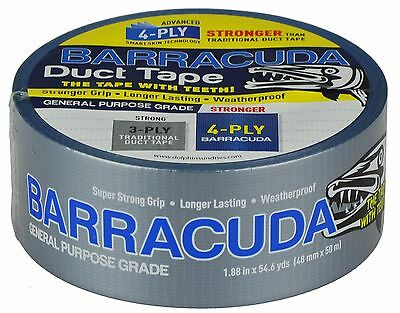 Barracuda Duct Tape Silver 48mm x 50m General Purpose Tape 140my thickness