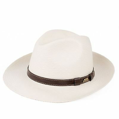 Mens Ladies Summer Unisex Genuine Panama Sun Hats Hand Woven In Ecuador