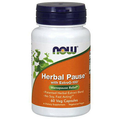 Herbal Pause with EstroG-100 60 vcaps by Now Foods