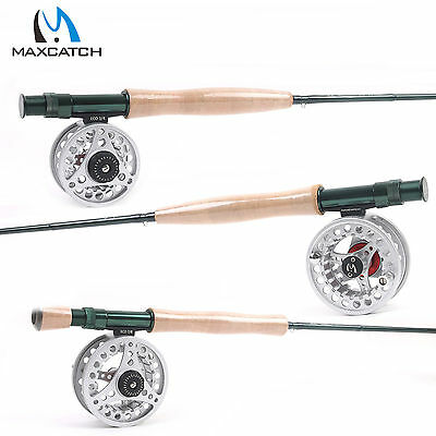 Maxcatch Fly Rod And Reel Combo 3/4/5/6/7/8 Weight Fast Action Fly Fishing Rod