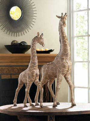 Giraffe Walking Tall Statue Safari Animal Decor Small & Large~10017844-10017834