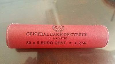 5 Cent Euro Coin Of Cyprus  In Pack