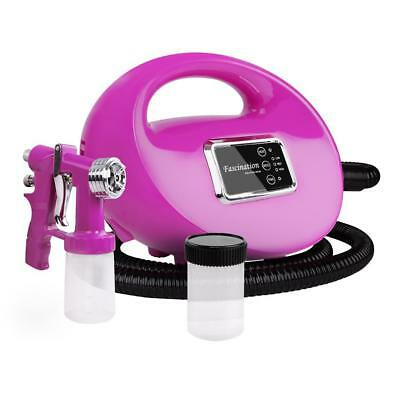 NEW HVLP Spray Tan Machine 700W Pink