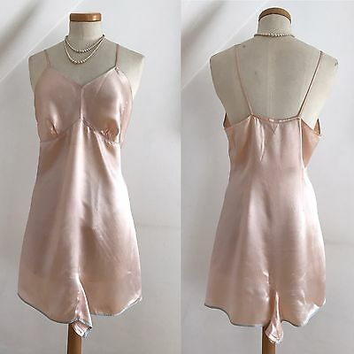 Vintage 1940s Celanese Cami Knickers Play Suit Teddy Step in CC41 Delicious 16