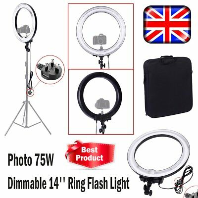 Neewer Camera Photo Video18Inch 600W 5500K Dimmable Ring Fluorescent Flash Light