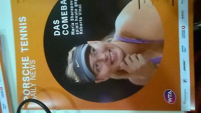 Porsche tennis Daily news 26.04.17  Porsche tennis Grand Prix Sharapova on cover