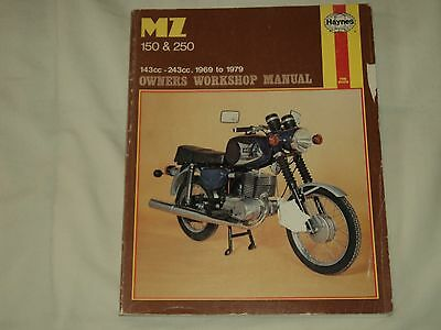 Haynes MZ 150 & 250 1969 to 1979 Workshop Manual