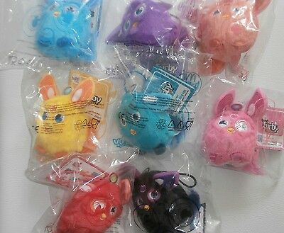 McDonalds Happy Meal toys Furby Connect complete set of 8 New & sealed BNIB