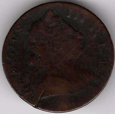 1773 George III Halfpenny***Collectors***(G3)