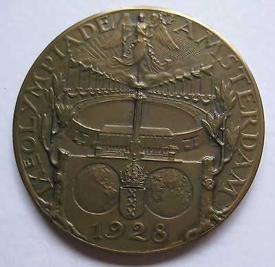 1928 Amsterdam Olympic Participant Medal