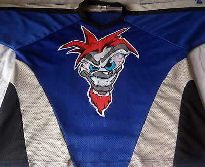 Real Juggalos Blue, Grey & Black XL Hockey Jersey * INSANE CLOWN POSSE TWIZTID