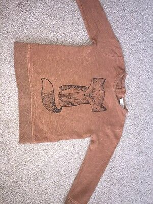Next Boys Tan Fox Jumper 9-12 Months