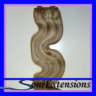 EXTENSIONES CORTINA MANTA CABELLO REMY100gr ONDULAD 50X120 Nº 18/613 REMY A++
