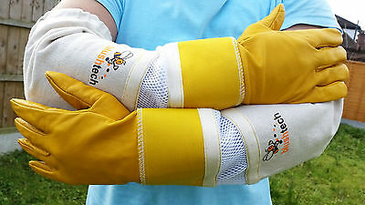 Beekeeping gloves Beekeeper Bee Gloves Superior quality Cowhide Ventilated Glove